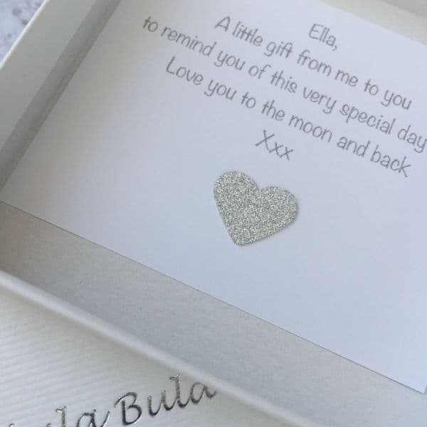 Holy Communion gift for a very special Granddaughter - FREE ENGRAVING